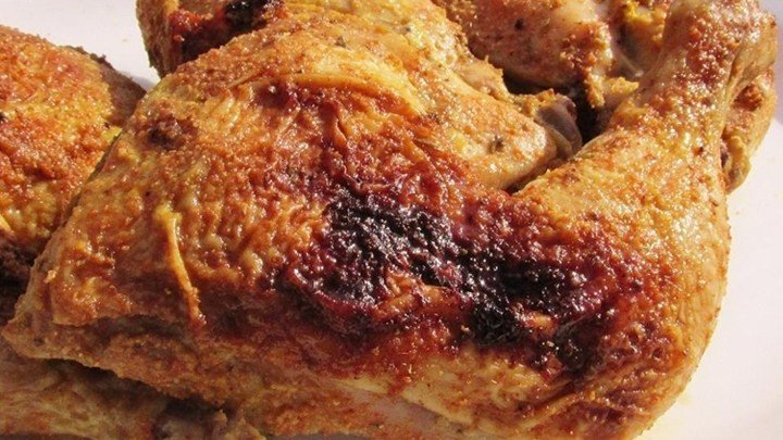 Spice Roasted Chicken Quarters download