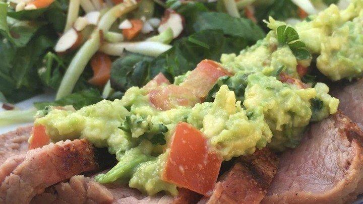 Flank Steak with Avocado Salsa download