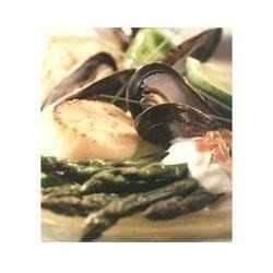 Scallops, Mussels, and Asparagus Salad download