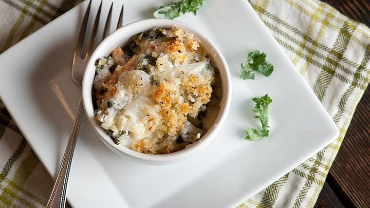 Gluten-Free Kale and Butternut Squash Gratin download