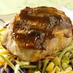 Broiled BBQ Pork Chops download