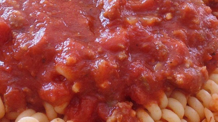 Chunky Red Sauce with Ground Italian Sausage download