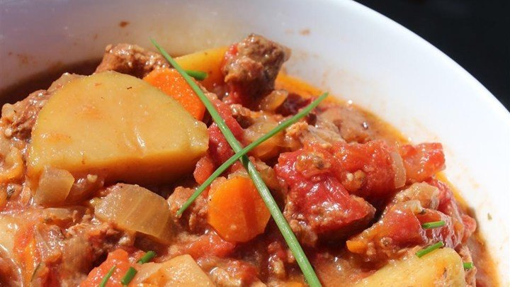 Mom's Basic Vegetable Beef Stew