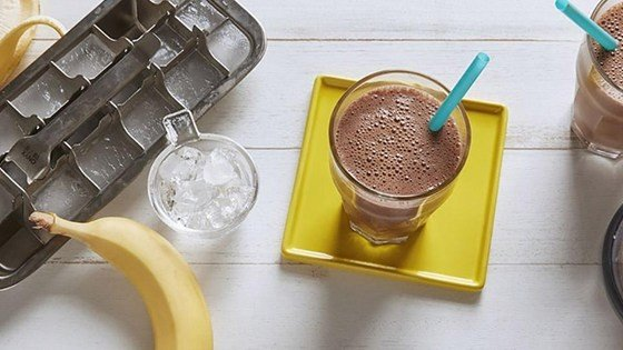 Chocolate-Banana Soy Smoothie