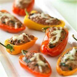 Beef and Couscous Stuffed Baby Bell Peppers download