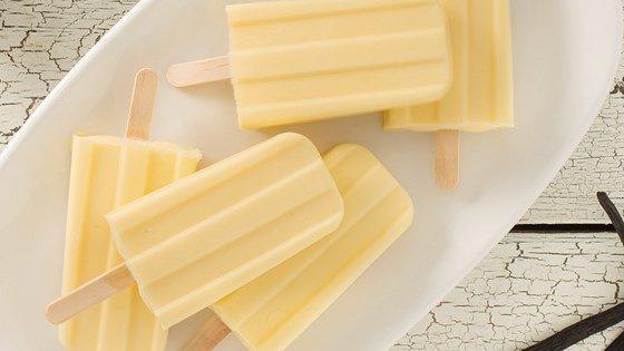Sugar-Free Vanilla Pudding Pops