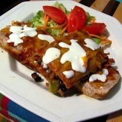 Black Bean and Rice Enchiladas download