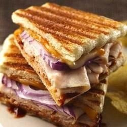 Barbecued Turkey and Cheese Panini download