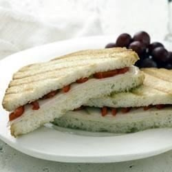 Panini with Turkey and Roasted Red Pepper download