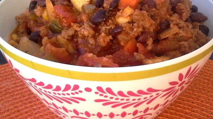 Very Veggie and Beef Chili download