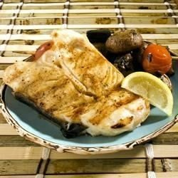 Asian Grilled Halibut Steaks