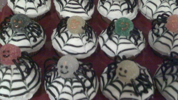 Spiced Spider Cupcakes download