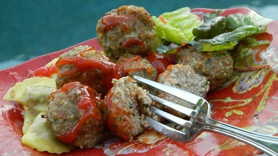My Italian Turkey Meatballs