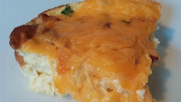 download Cheesy Bacon Breakfast Casserole