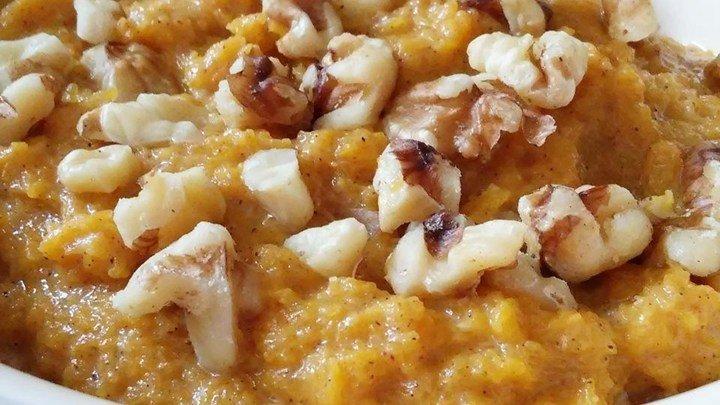 Butternut Squash Paleo 'Porridge'