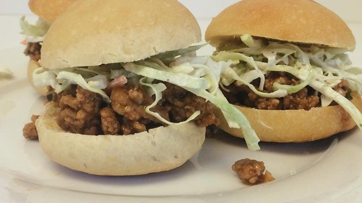 Asian-Inspired Sloppy Joes