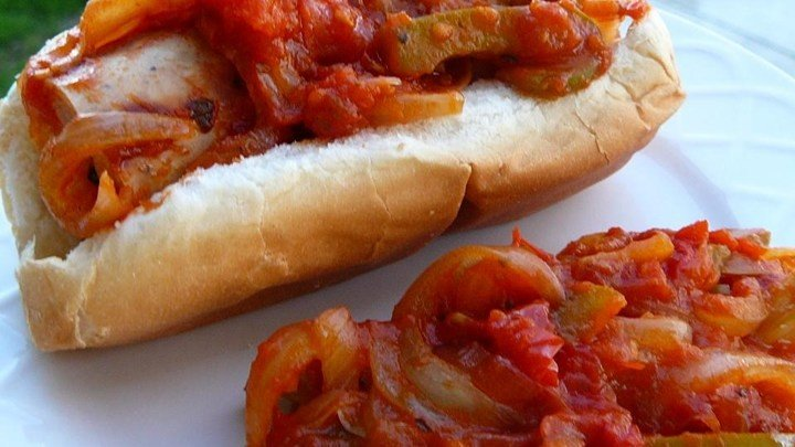 Super-Easy Sausage and Peppers