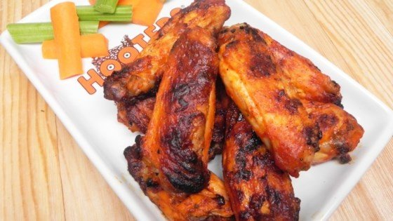 Simple Grilled Hot Wings