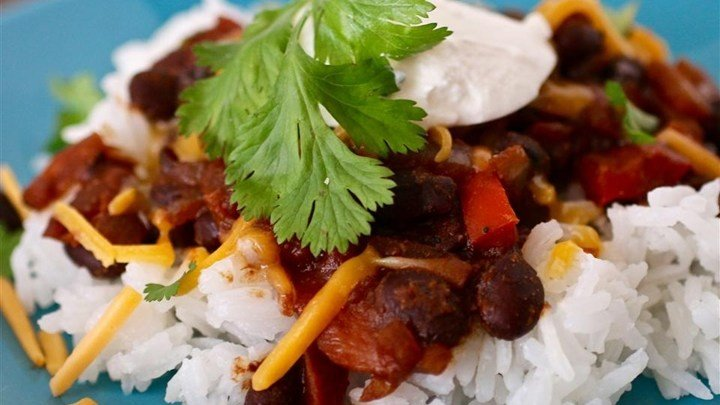 Texi-Fied Black Beans and Brown Rice download