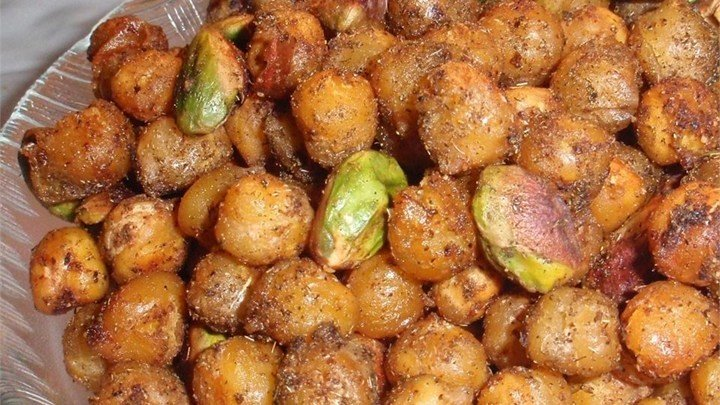 Zesty Garbanzo Beans with Pistachio Nuts download