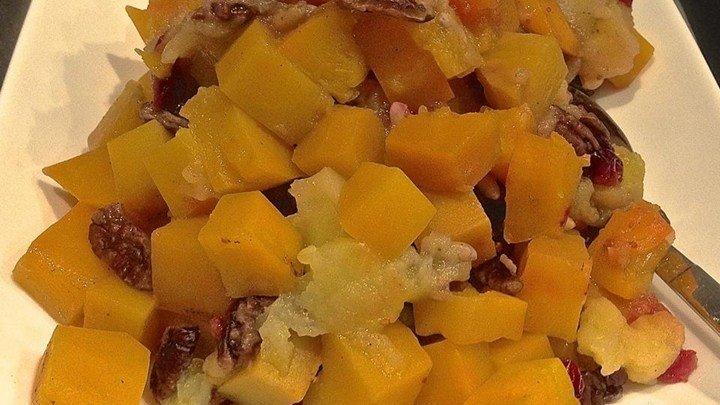 Savory Slow Cooker Squash and Apple Dish download