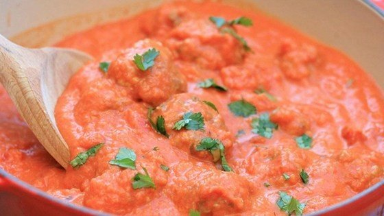 Thai Meatballs in a Tomato Coconut Curry Sauce download