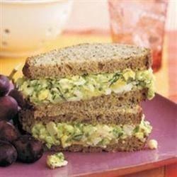 Spicy Egg Salad Sandwiches