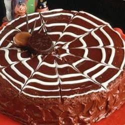 Chocolate Spider Web Cake download