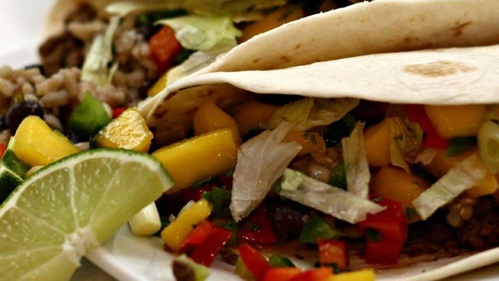 Beef Soft Tacos with Mango Salsa download