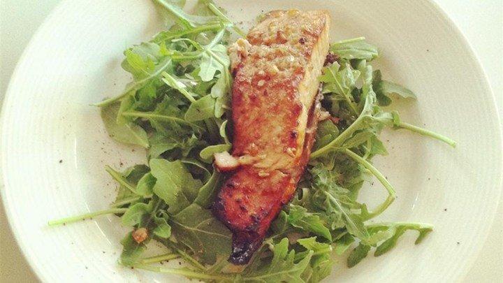 Spicy-Sweet Glazed Salmon download