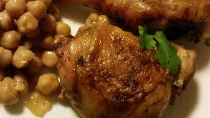 Leah's Chicken with Chickpeas download