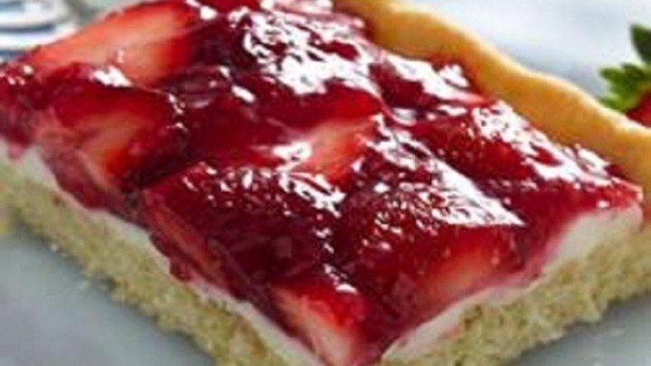 Creamy Strawberry Dessert Squares download