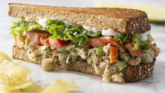"Chickpea ""Tuna"" Salad Sandwiches"