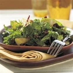 Apple, Fresh Herb, and Walnut Salad