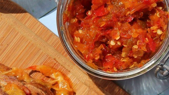 Sweet and Spicy Pepper Relish