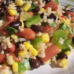 Mexican Bean and Rice Salad download