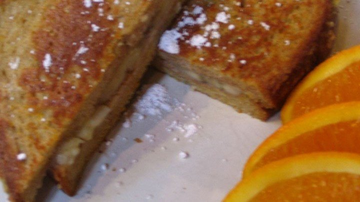 Banana French Toast Breakfast  Sandwiches download