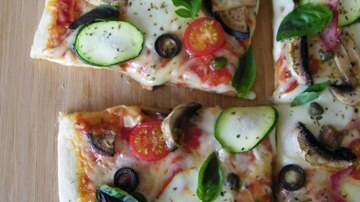 Homemade Veggie Pizza download