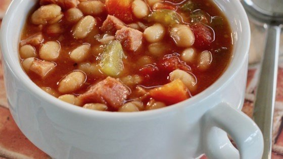 download Instant Pot® Double Bean and Ham Soup