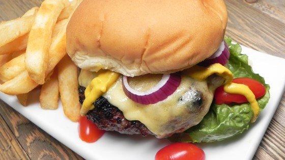 Dragon's Breath Steak Burgers