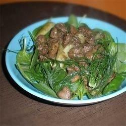 Hot Chicken Liver and Fennel Salad download