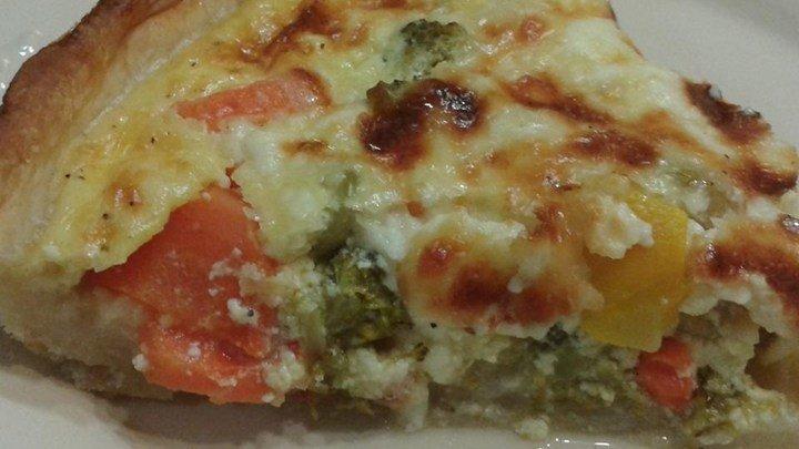 Healthy Vegetarian Quiche