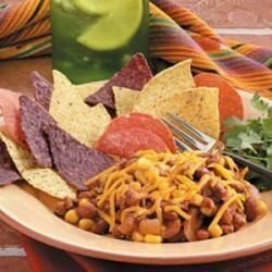 Chili Bean Nacho Skillet download