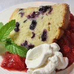 Blueberry Pound Cake download
