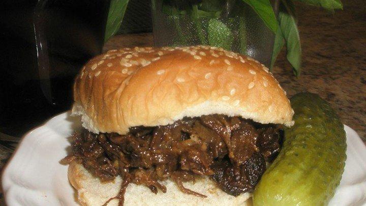 Healthier BBQ Pork for Sandwiches
