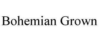 BOHEMIAN GROWN
