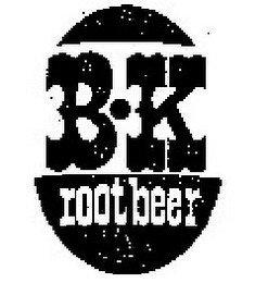 B·K ROOT BEER