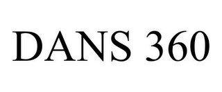 DANS 360