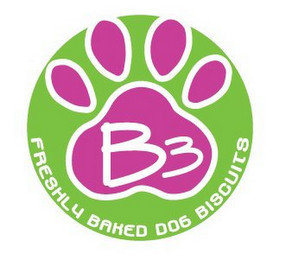 B3 FRESHLY BAKED DOG BISCUITS