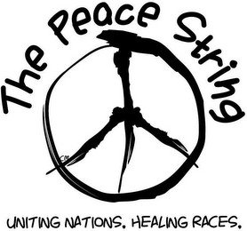 THE PEACE STRING CM UNITING NATIONS. HEALING RACES.